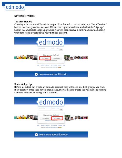 Edmodo Support and FAQ