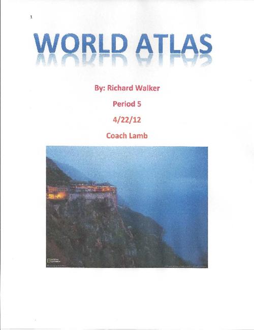 Richards World Atlas