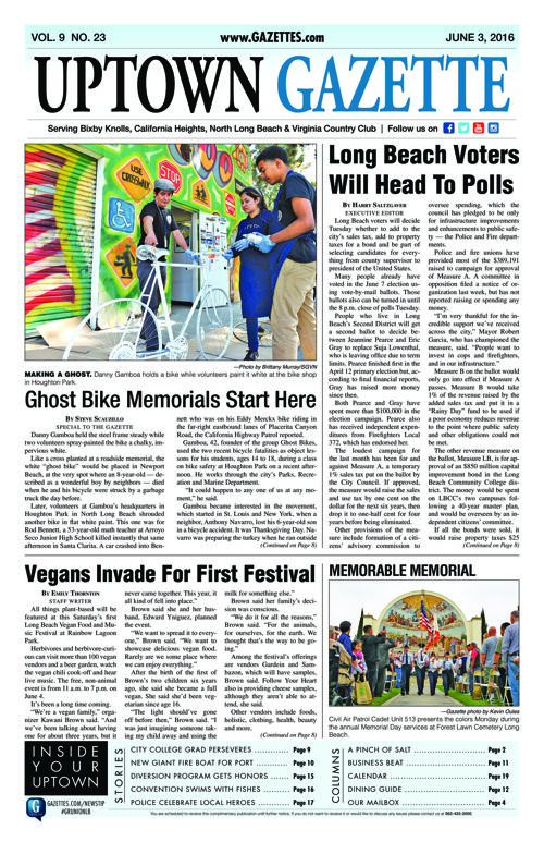 Uptown Gazette  |  June 3, 2016