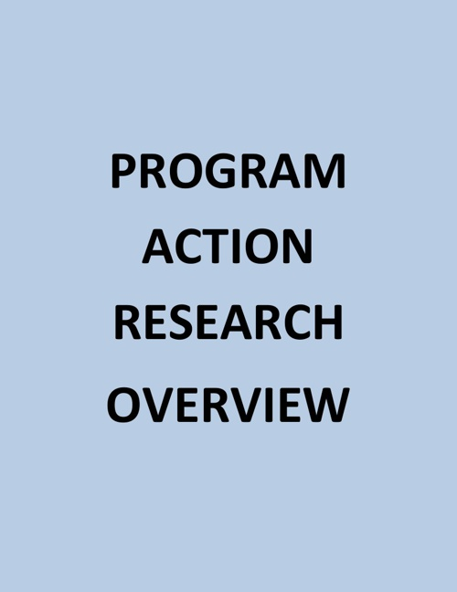 PROGRAM ACTION RESEARCH 101