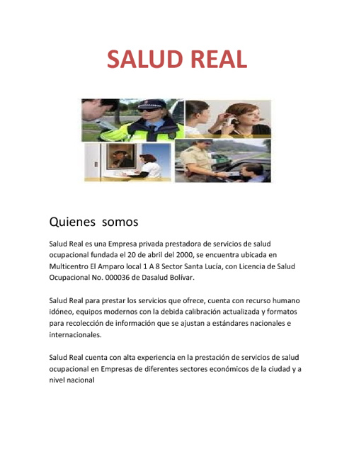 SALUD REAL