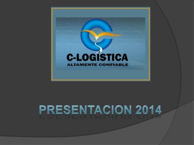 C-LOGISTICA PRESENTACION 2014