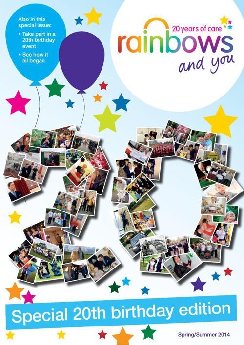 Newsletter Spring/Summer 2014 20th Birthday Edition