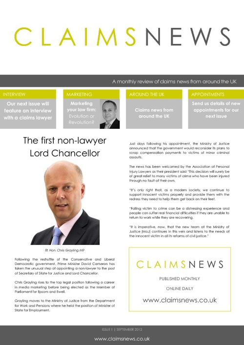 CLAIMS NEWS ARCHIVE