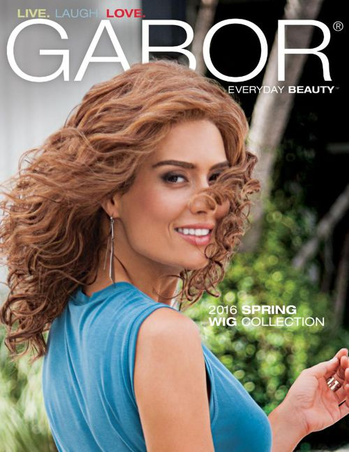 Gabor 2016 Spring Wig Collection