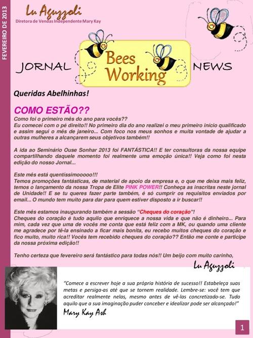 Bees Working News - Fevereiro