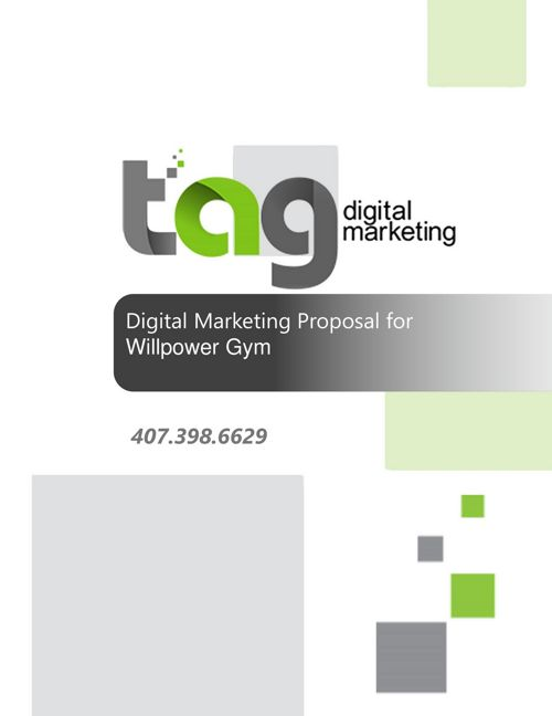 Willpower Gym Marketing Proposal_20170113