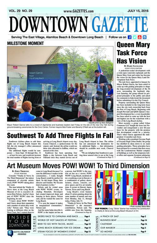 Downtown Gazette     July 15, 2016