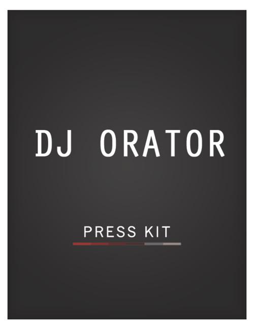 DJ Orator EPK