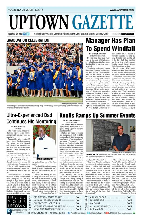 Uptown Gazette  |  June 14, 2013