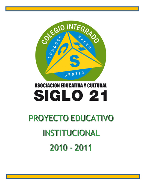 Modelo Educativo Integral Siglo 21