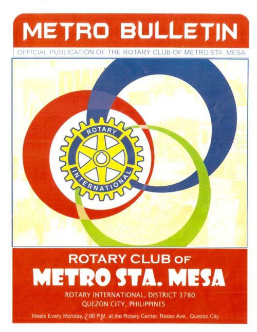 RC Metro Sta Mesa EBulletin issue #017