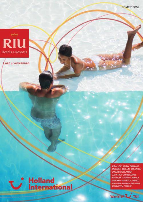 Riu hotels zomer 2015 algemene informatie