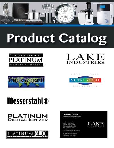 Product Catalog - Jeremy