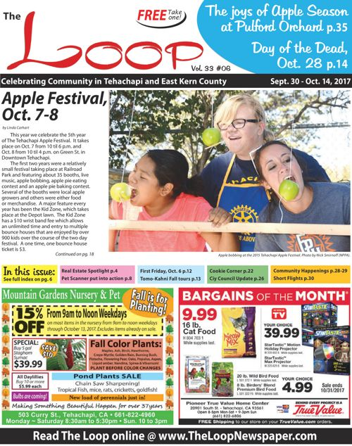 The Loop Newspaper - Vol 33 No 06 - 09/30 to 10/14, 2017