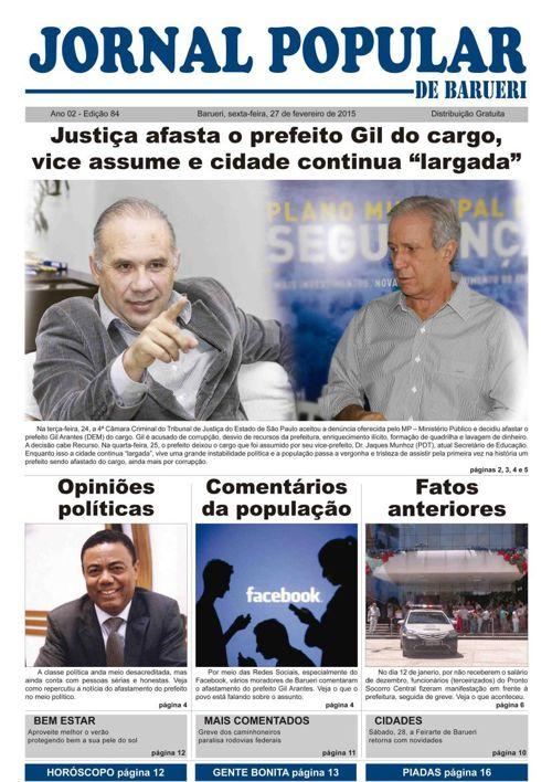 84ª edição do Jornal Popular de Barueri