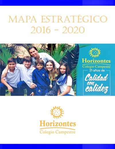 MAPA  ESTRATEGICO 2016-2020