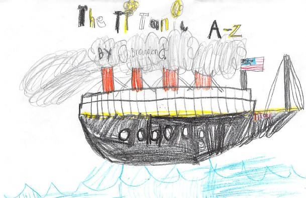 The Titanic A-Z by Brandon G.