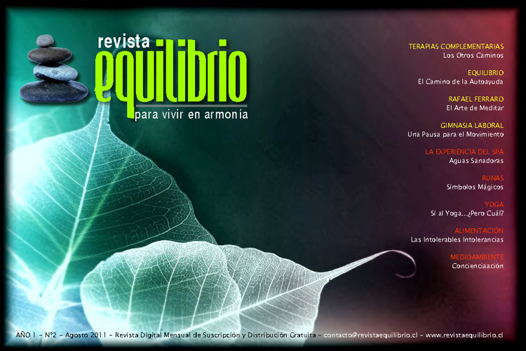 Revista Equilibrio - Agosto 2011
