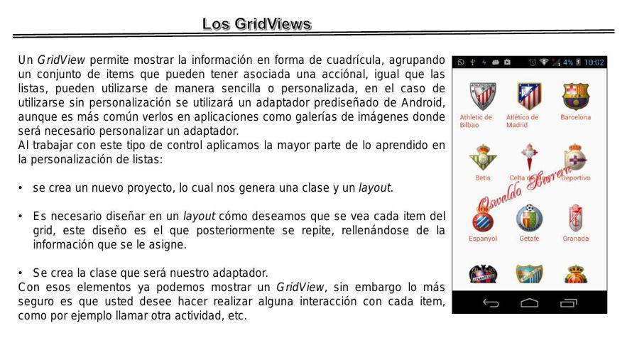 GridView