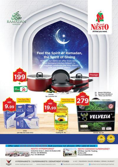 Nesto Ramadan offers