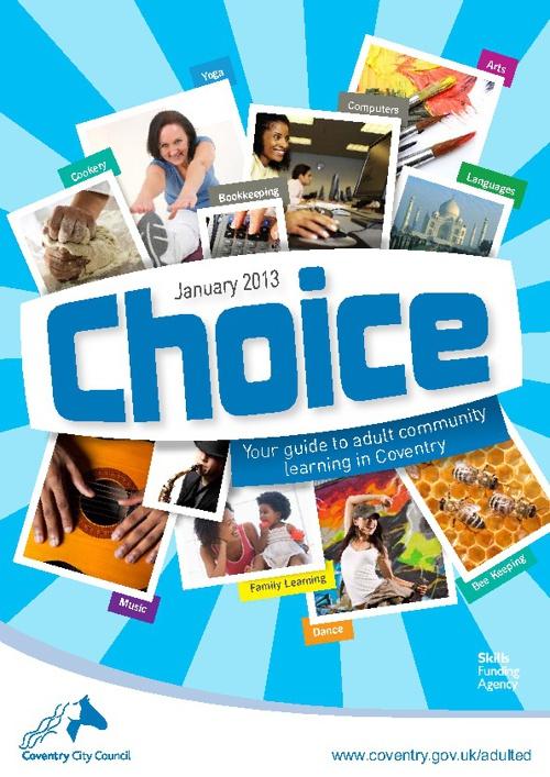 Choice - Spring Term 2013