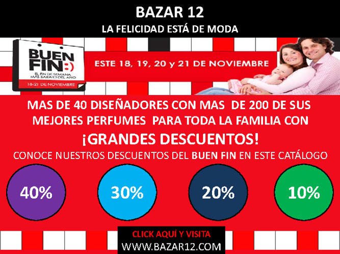 Bazar 12-Catálogo Ofertas Buen Fin 2011