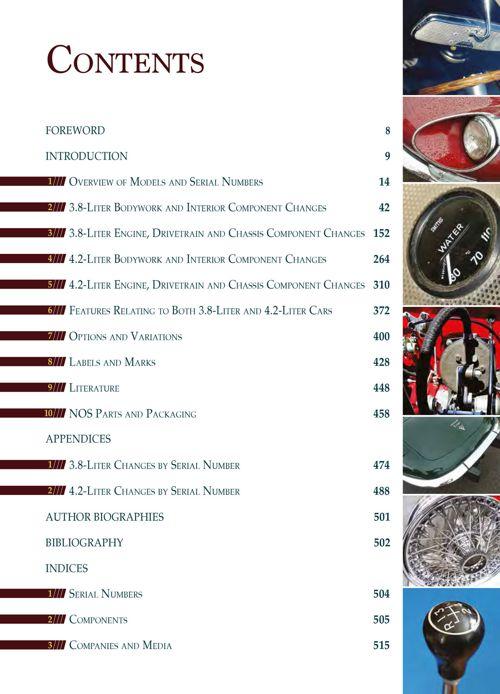 Jaguar E-Type Six-Cylinder Originality Guide