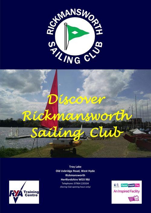Discover Rickmansworth Sailing Club