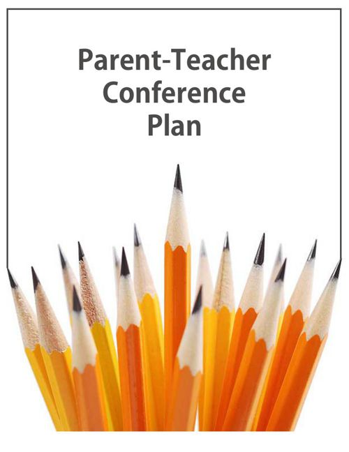 Parent Teacher Conference Plan