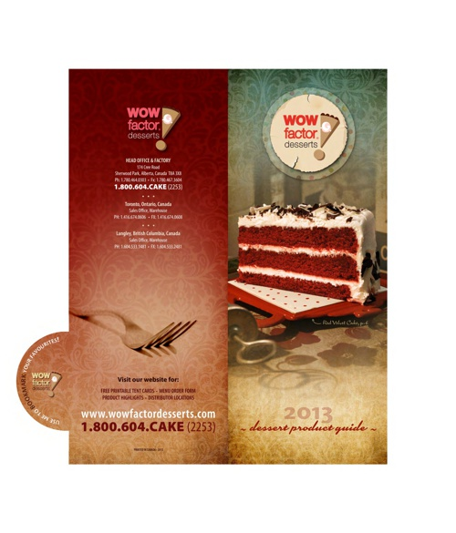 Wow Factor Desserts Product Guide 2013