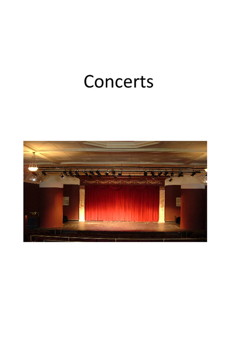 Concerts