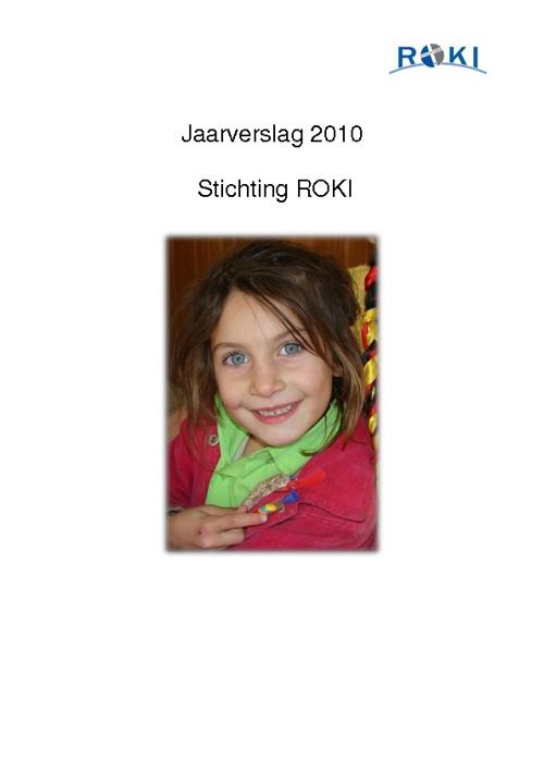 Jaarverslag ROKI 2010