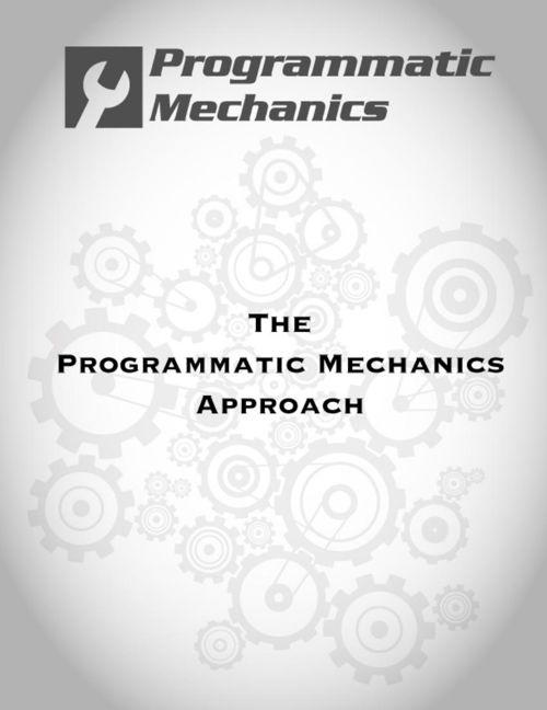 The Programmatic Mechanics Approach-JD