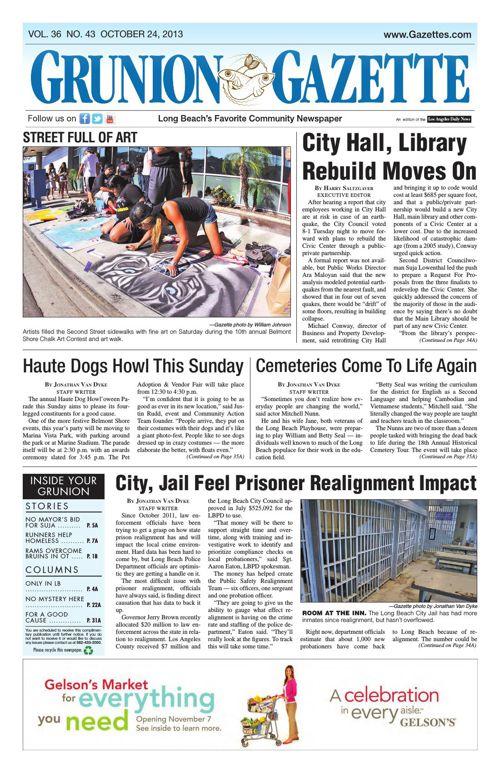 Grunion Gazette | October 24, 2013