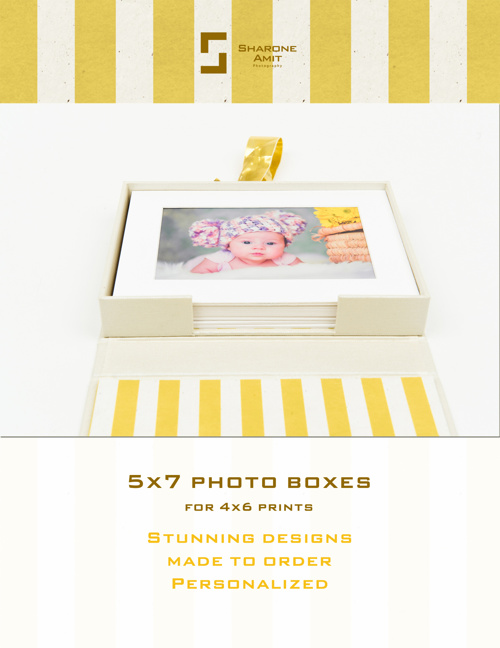 5x7 Boxes by Sharone Amit