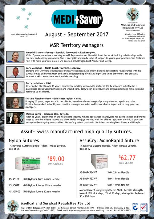 MEDI+Saver August - September 2017