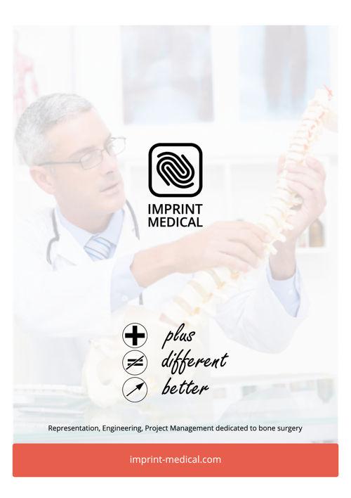 Plaquette Imprint Medical