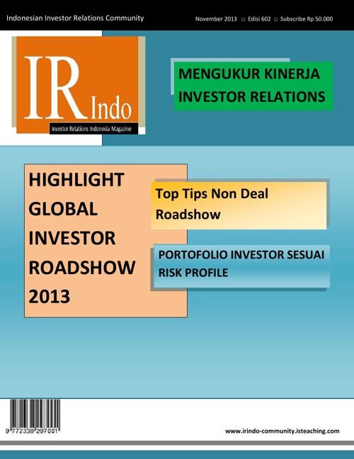 IR Indo Magazine - November 2013