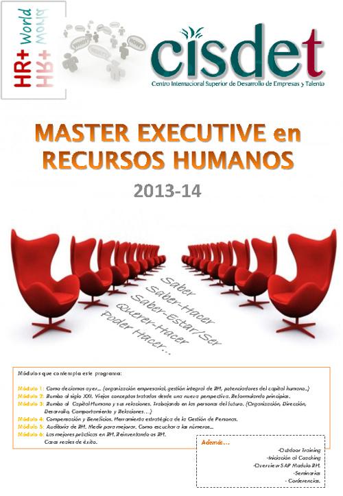 Master Executive en Recursos Humanos