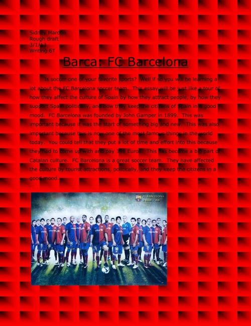 Barca: FC Barcelona