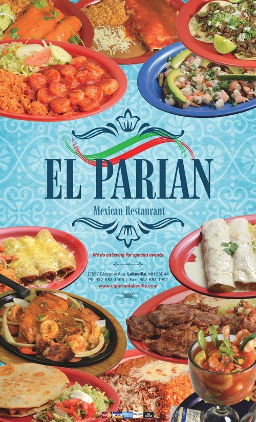 El Parian Mexican Restaurant Lakeville Menu (Desktop)