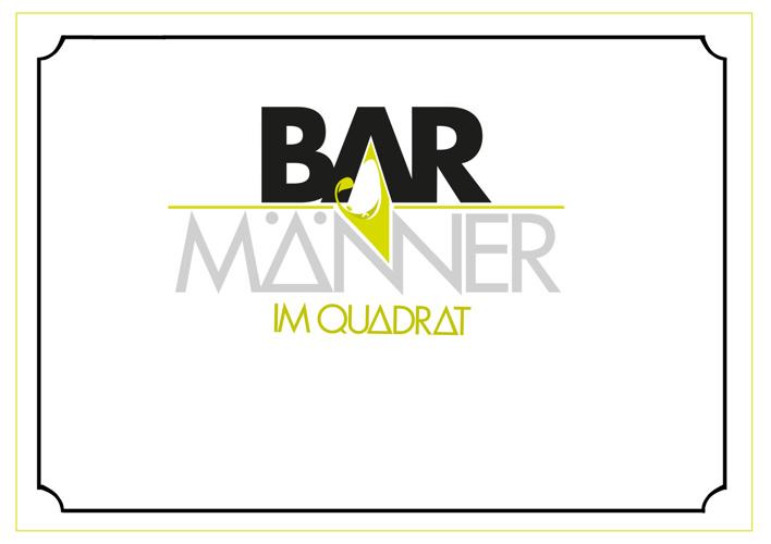 Barmänner im Quadrat