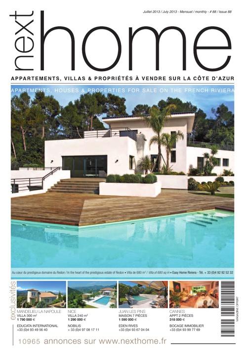 Magazine Nexthome Juillet 2013