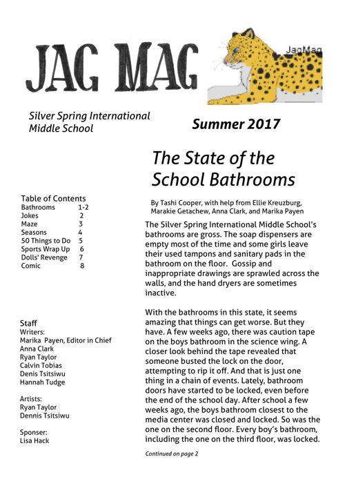 2017Summer JagMag