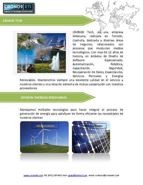 Cronos Energías Renovables