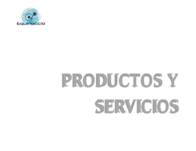 Productos y servicios generales 2