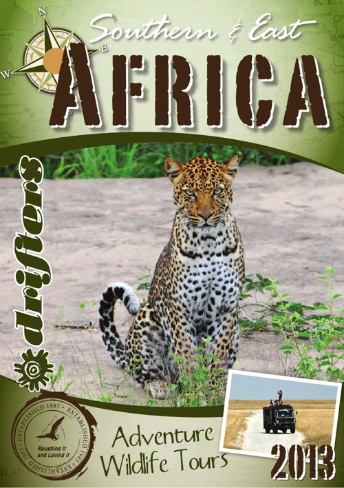 Drifters Africa 2013 Brochure
