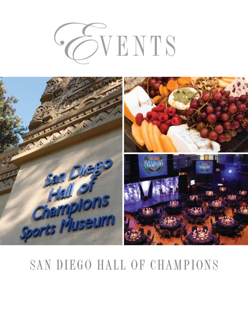 Hall of Champions Events Guide