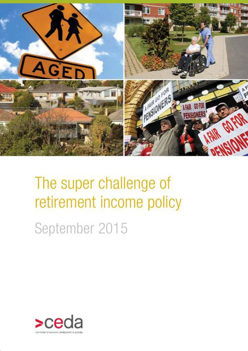 The super challenge of retirement income policy